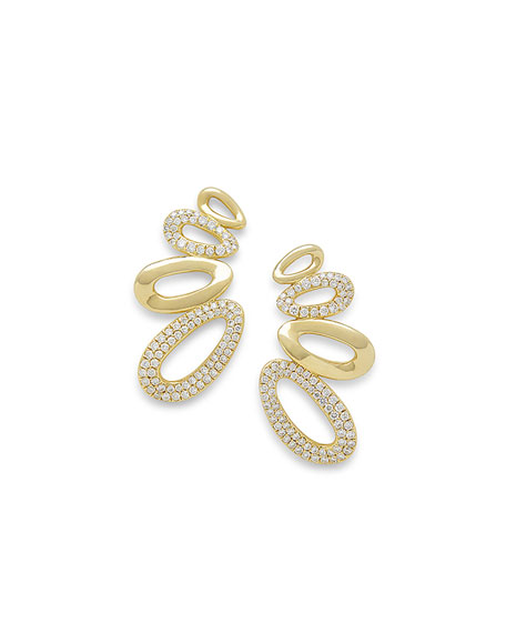 18k Cherish Diamond Earring Climbers