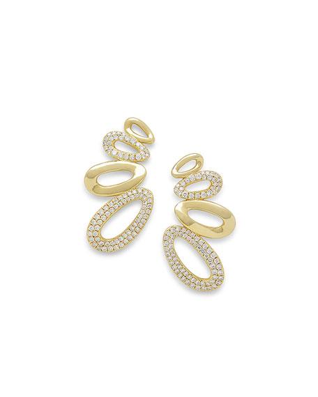 18k Cherish Diamond Earring Climbers