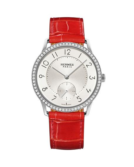 Hermès Slim D'Hermès Watch, 39.5mm