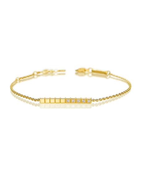 Chopard Ice Cube Diamond Bracelet in 18K Yellow Gold
