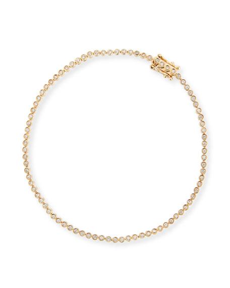 Diamond Bezel Tennis Bracelet
