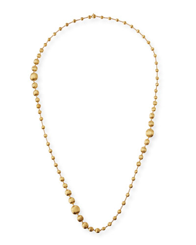 18k Africa Long Necklace, 40