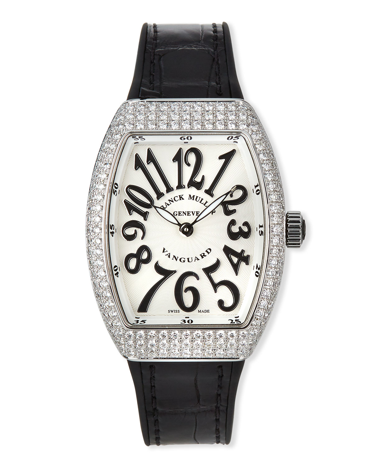 93526757db9 Franck Muller Lady Vanguard Watch with Diamonds   Alligator Strap ...