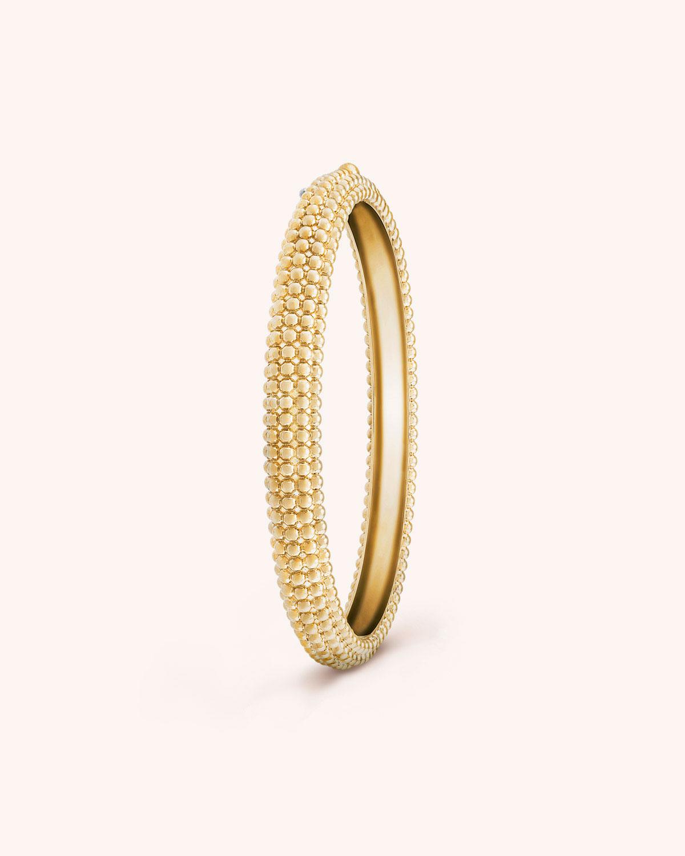 Perlee Pearls Of Gold Bracelet 5 Row