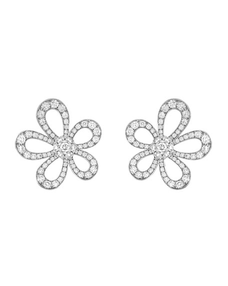 Van Cleef & Arpels Flowerlace Earrings