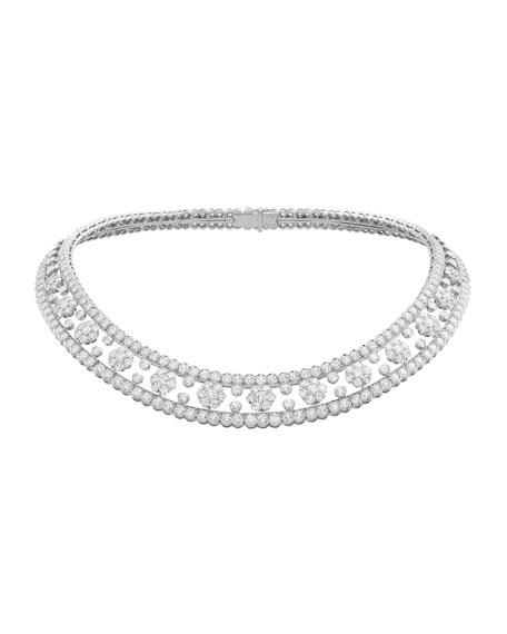 Van Cleef & Arpels Snowflake Necklace