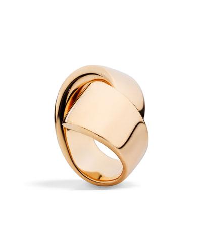 Abbraccio 18k Rose Gold Ring
