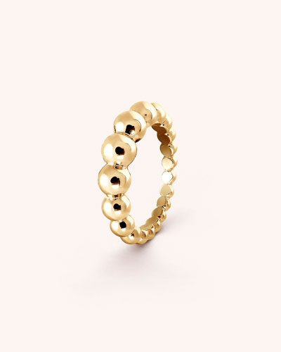 Perlee Pearls of Gold Variation Ring