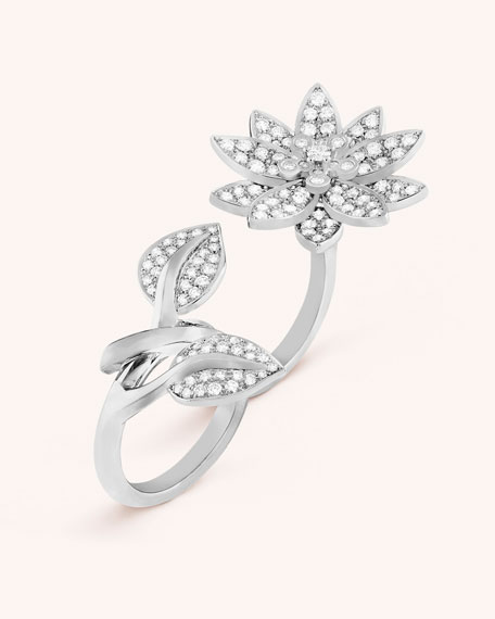 Lotus Between the Finger Ring