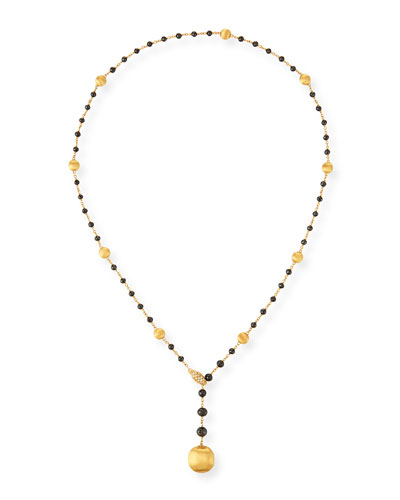 18k Africa Diamond Y-Drop Necklace