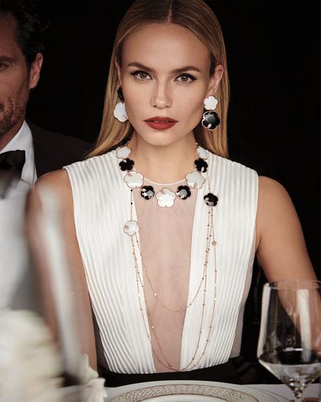 "Pasquale Bruni Ton Joli 18k Black & White Necklace w/ Diamonds, 40"""