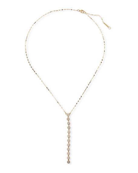 LANA 14k Legacy Diamond Lariat Necklace