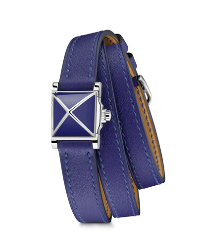 Medor Watch  Stainless Steel & Leather Strap