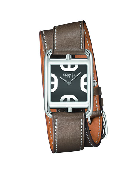 Image 2 of 5: Hermès Cape Cod Watch, 29 x 29 mm