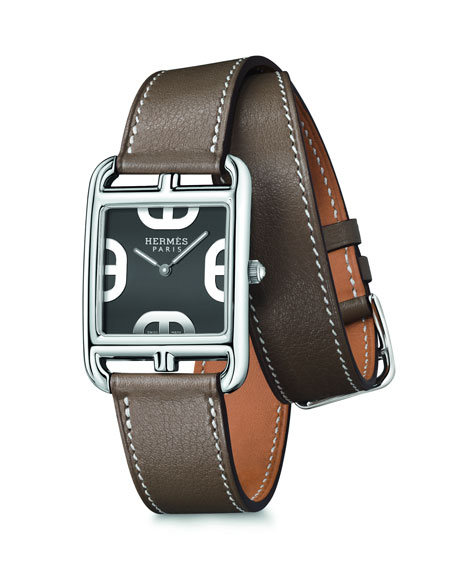 Image 1 of 5: Hermès Cape Cod Watch, 29 x 29 mm