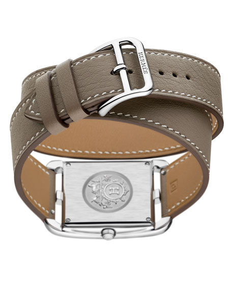 Image 5 of 5: Hermès Cape Cod Watch, 29 x 29 mm