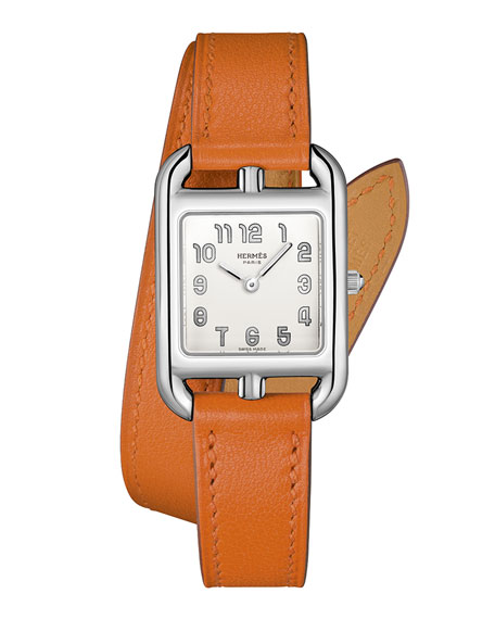Image 1 of 5: Hermès Cape Cod Watch, 23 x 23 mm