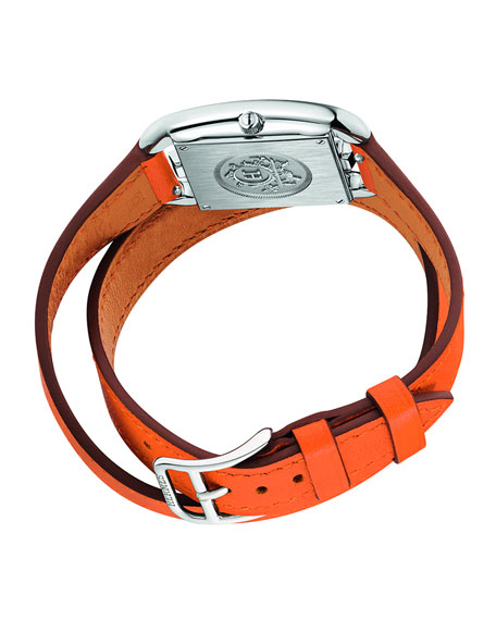 Image 3 of 5: Hermès Cape Cod Watch, 23 x 23 mm