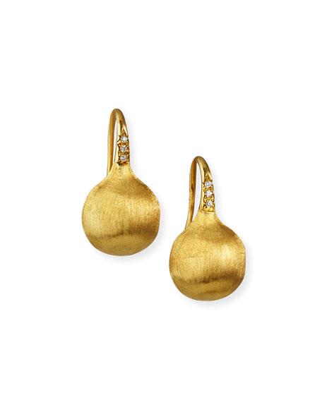 Marco Bicego Africa 18k Diamond Drop Earrings