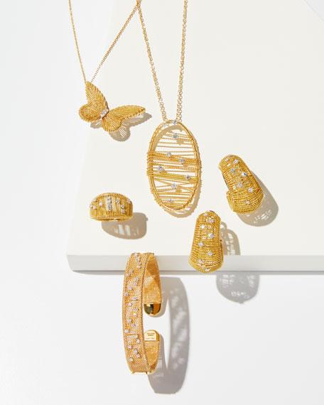 Staurino Renaissance 18k Gold Dancing Diamond Ring