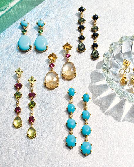 David Yurman 18k Gold Chatelaine Drop Earrings