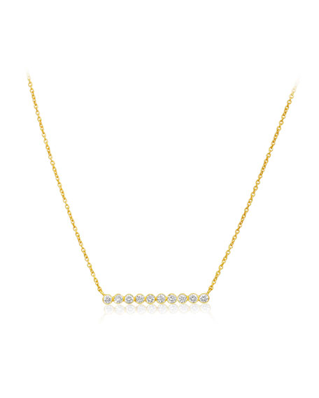 Legend Amrapali Tarakini Diamond Bar Pendant Necklace
