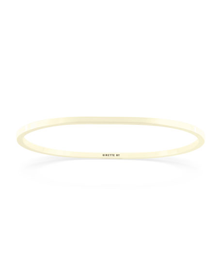 GINETTE NY TV Ivory Ceramic Bangle