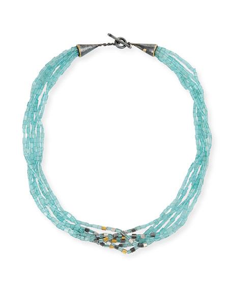 Yossi Harari Roxanne Cone Apatite Multi-Strand Necklace