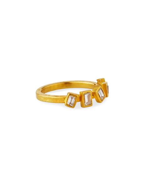Yossi Harari Reyna 24k 5-Diamond Ring