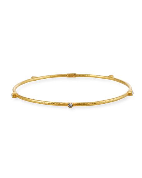 Yossi Harari 18k Gold 5-Diamond Bangle