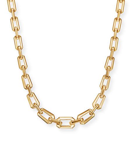 "David Yurman Novella Faceted Chain Necklace, 16.5""L"