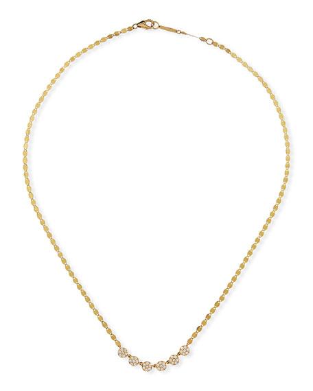 LANA 14k Diamond 6-Disc Necklace