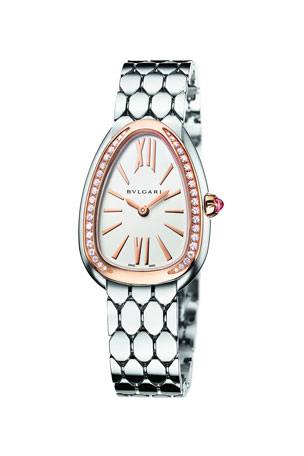 BVLGARI Serpenti Seduttori 33mm Watch w/ Bracelet
