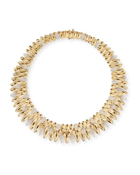 SUTRA 18K Yellow Gold Kashmir Diamond Collar