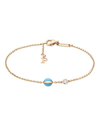 Possession Turquoise & Diamond Station Bracelet