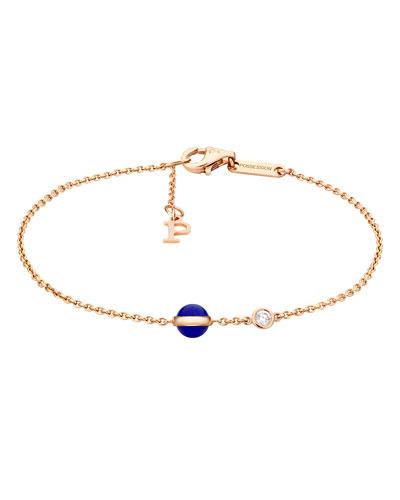 Possession Lapis & Diamond Station Bracelet