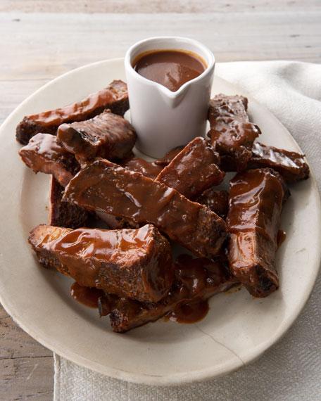 Seasoned Pork Ribs, For 8-10 People