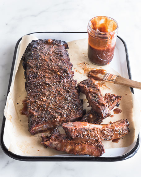 Seasoned Pork Ribs, For 8-10 People
