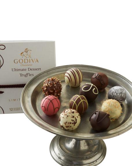 Godiva Chocolatier 12-Piece Ultimate Dessert Truffles