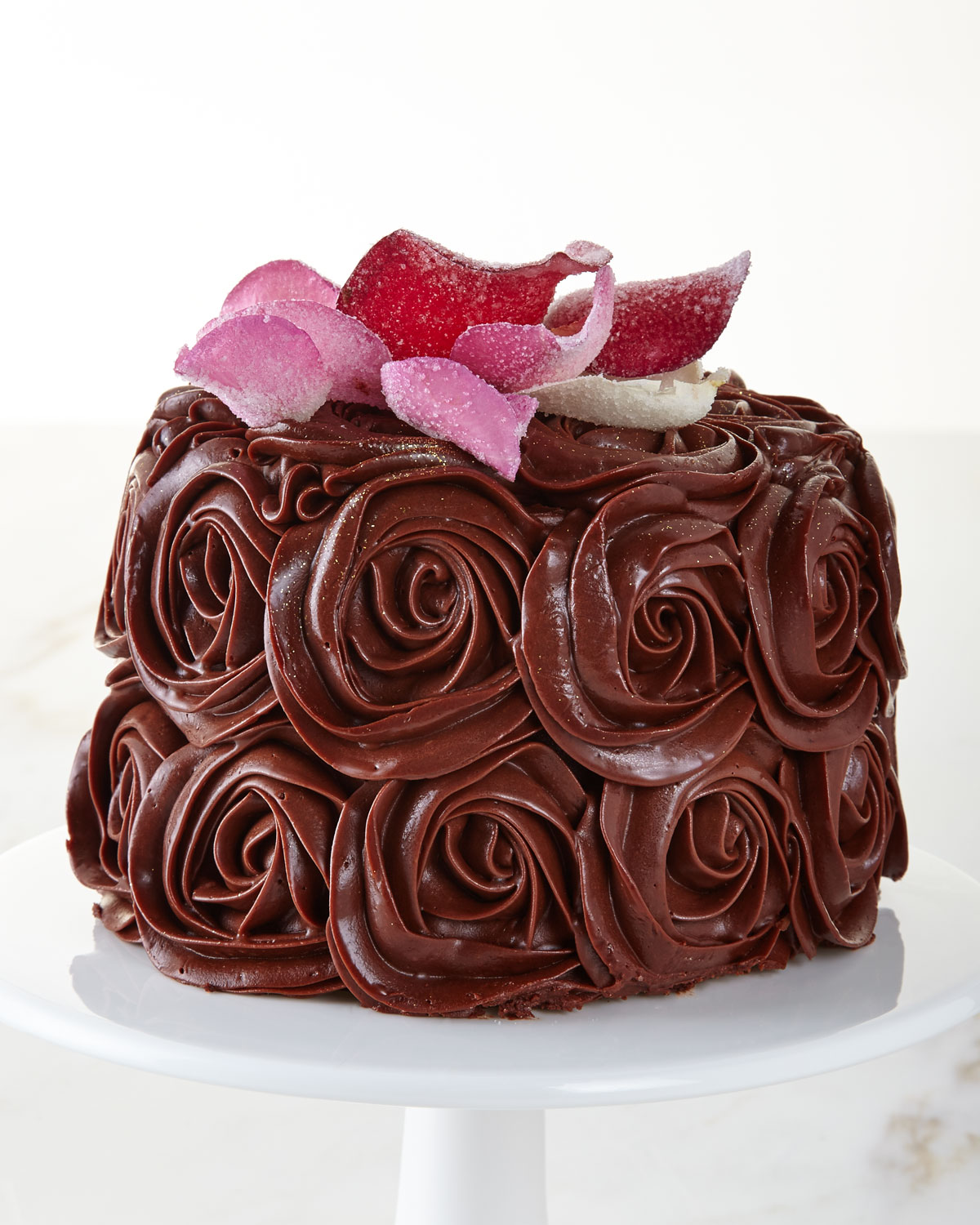 Chocolate Rose Cake For 8 10 People Neiman Marcus