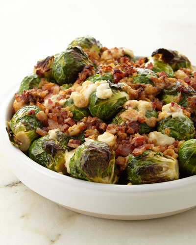 Brussels Sprouts with Pancetta  For 6-8 People