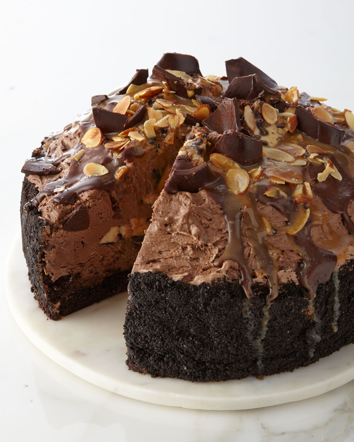 Image result for chocolate eruption cake
