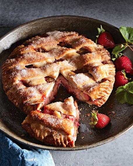 The Dark Chocolate Bakery Strawberry Rhubarb Pie, For 6-8 ...