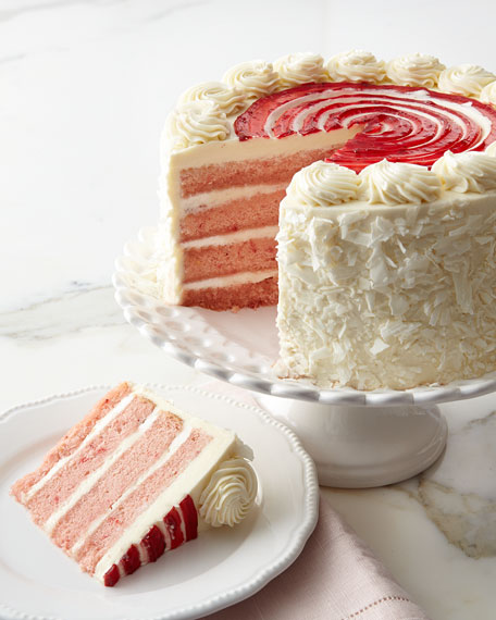Frosted Art Bakery Strawberry Cake