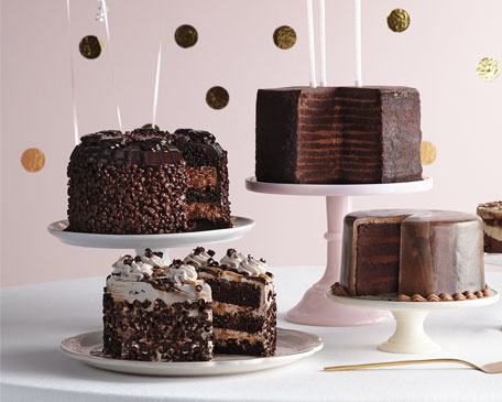 1001 Chocolate Chip Layer Cake, For 8 People