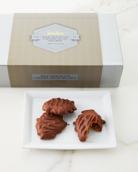 Neiman Marcus Milk-Chocolate Caramel Pecan Splurge