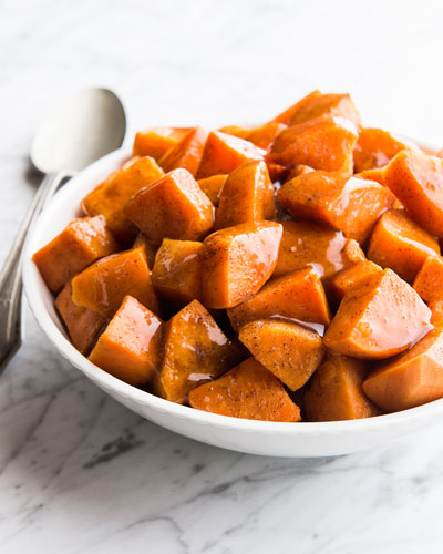Candied Yams  For 8 People