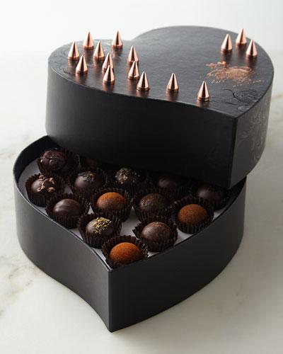 Vosges Haut Chocolat Renegade Noir Chocolate Truffles, 16