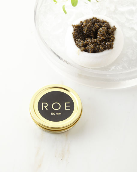 Roe Caviar White Sturgeon Caviar, 50gm