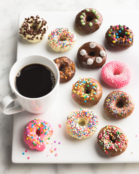 Belgian Chocolate-Covered Mini Donuts